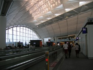 Hongkong International Airport,disekitar gate 60